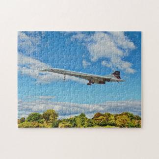 Puzzle Concorde sur des finales