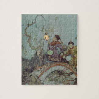 Puzzle Conte de fées vintage, rossignol par Edmund Dulac