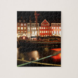 Puzzle Copenhague la nuit