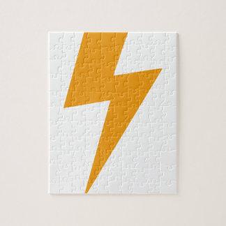 Puzzle Copie de jaune d'énergie de tonnerre