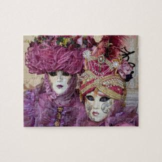 Puzzle Costume pourpre de carnaval, Venise