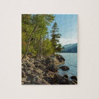 Puzzle Côte de Teton de lac jenny