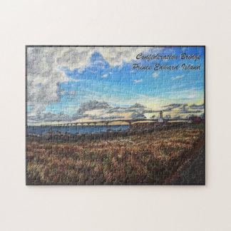 Puzzle Coucher du soleil de pont de confédération, PEI