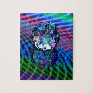 Puzzle Couleur des facettes en verre