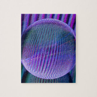 Puzzle Couleurs de boule de cristal