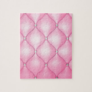 Puzzle Coussin rose