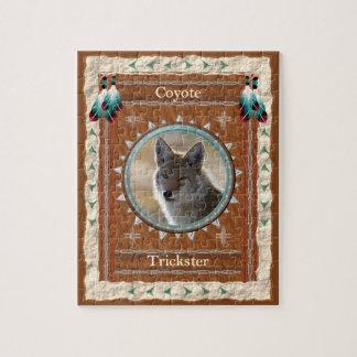 Puzzle Coyote - casse-tête de Filou avec la boîte