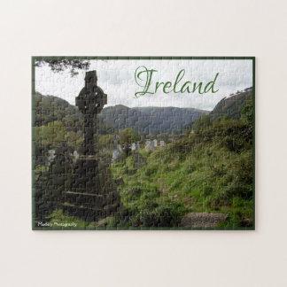 Puzzle Croix celtique de Glendalough