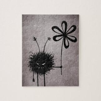 Puzzle Cru mauvais d'insecte de fleur