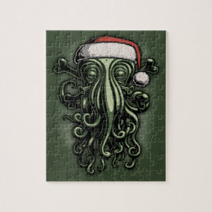 Puzzle Cthulhu Claus