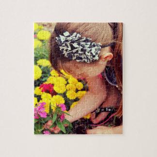 Puzzle Cueillette de fleur