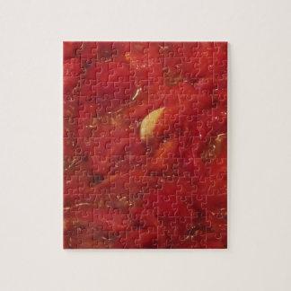 Puzzle Cuisson de la sauce tomate faite maison