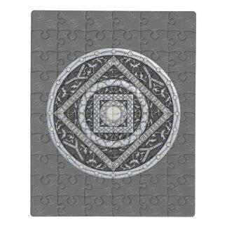 Puzzle d'acrylique de mandala de Cancer