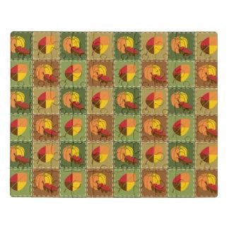Puzzle d'acrylique d'édredon d'automne
