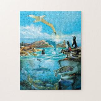 Puzzle d'animaux de Galapagos