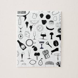 Puzzle Dans la cuisine