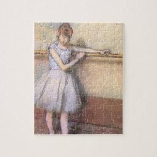 Puzzle Danseur à la barre par Edgar Degas, ballet vintage
