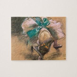 Puzzle Danseur attachant ses rubans par Edgar Degas