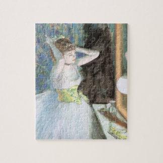 Puzzle Danseur dans son vestiaire par Edgar Degas