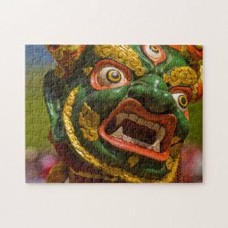 Puzzle Danseur masqué par Asiatique