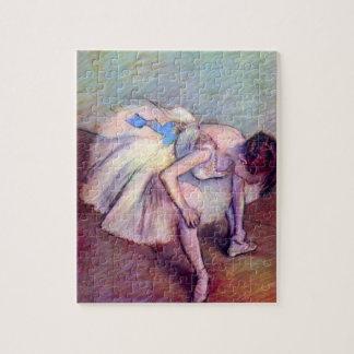 Puzzle Danseur par Edgar Degas, art vintage de ballet