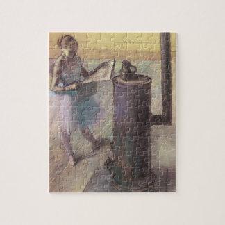 Puzzle Danseur se reposant par Edgar Degas, art vintage