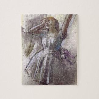 Puzzle Danseur s'étirant par Edgar Degas, ballet vintage