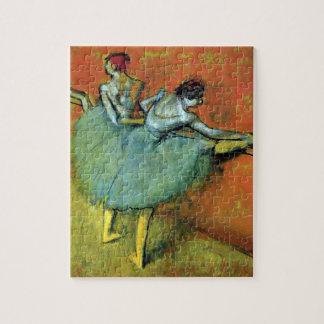 Puzzle Danseurs à la barre par Edgar Degas, ballet