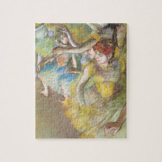Puzzle Danseurs classiques sur l'étape par Edgar Degas