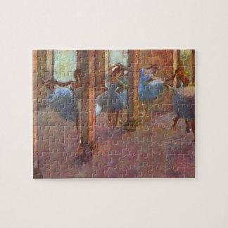 Puzzle Danseurs dans le foyer, Edgar Degas, art vintage