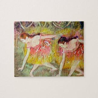 Puzzle Danseurs se pliant vers le bas par Edgar Degas,
