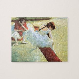 Puzzle Danseurs se reposant par Edgar Degas, art vintage