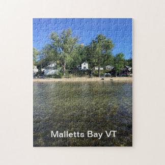 Puzzle de baie de Malletts