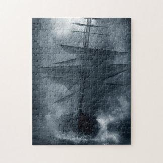 Puzzle de bateau de fantôme