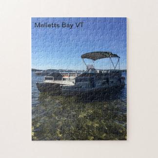 Puzzle de bateau de ponton de baie de Malletts