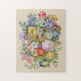 Puzzle de bouquet de fleur