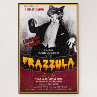 Puzzle de chat de monstre de Frazzula