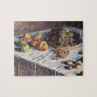 Puzzle De Claude Monet toujours la vie avec des pommes et
