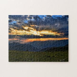 Puzzle de coucher de soleil