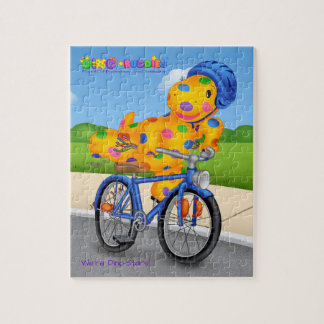 Puzzle de Dino-Buddies® - vélo d'équitation de