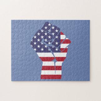 Puzzle de drapeau américain
