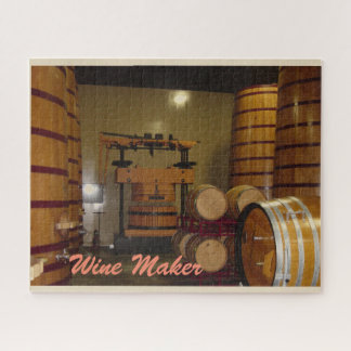 Puzzle de fabricant de vin