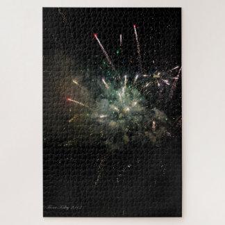 Puzzle de feu d'artifice