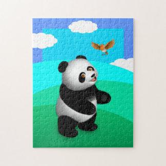 Puzzle de fève de fève de panda