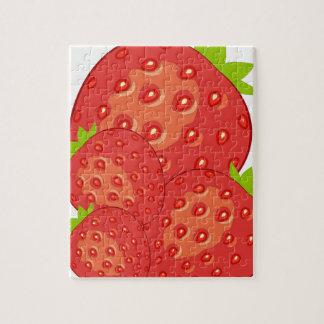 Puzzle de fraises