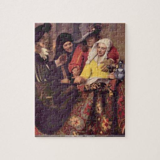 Puzzle de Johannes Vermeer - de Kupplerin