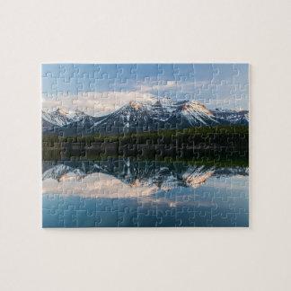 Puzzle de lac herbert, route express de champ de