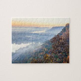 Puzzle de lever de soleil d'automne de Winona