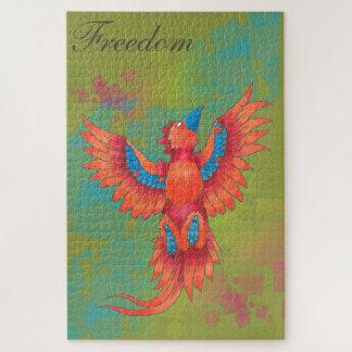 Puzzle de liberté d'oiseau de Phoenix (1.014
