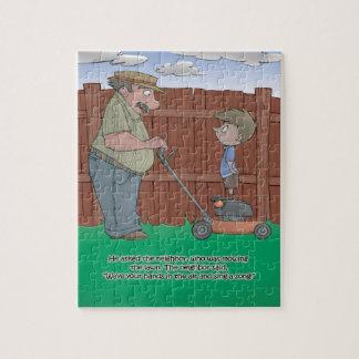 Puzzle de livre de hoquet - le voisin - 8x10 (PC
